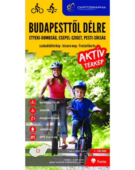 Cartographia  - Budapesttől délre aktív térkép