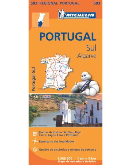 Cartographia  - Portugália-Dél /Algarve térkép (593)