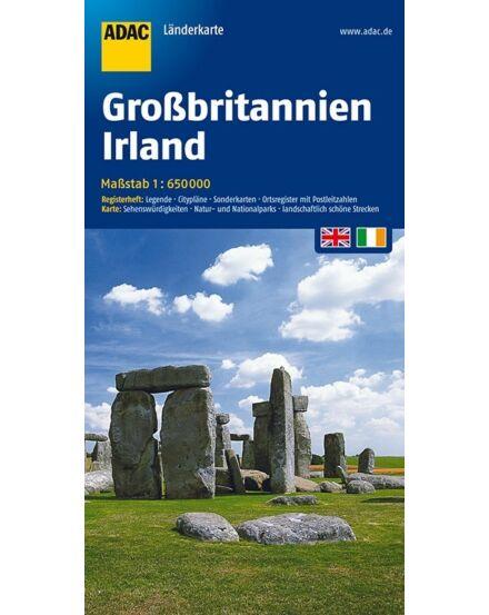 Cartographia  - Nagy-Britannia, Írország térkép