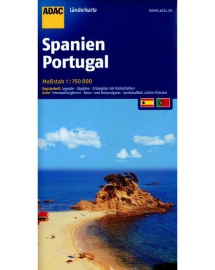 Cartographia  - Spanyolország, Portugália térkép