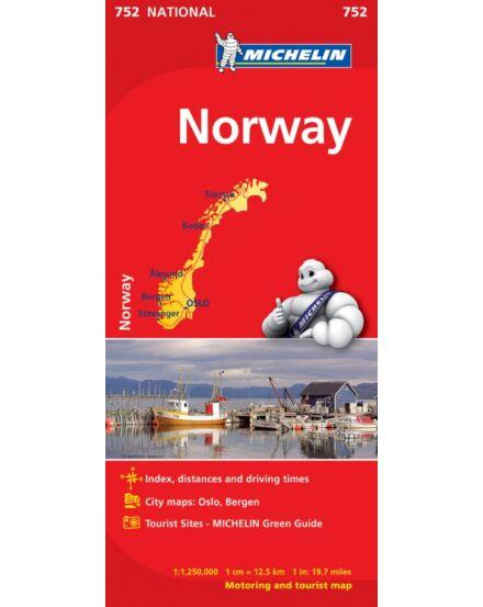 Cartographia  - Norvégia térkép (752)
