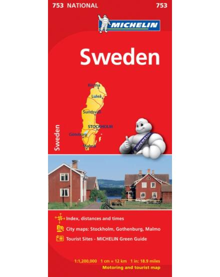 Cartographia  - Svédország térkép (753)