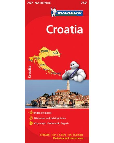 Cartographia  - Horvátország térkép (757)