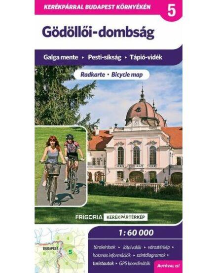 Cartographia  - Gödöllői-dombság kerékpáros térkép