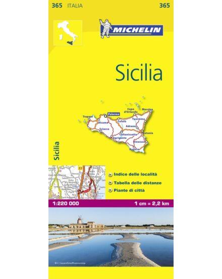 Cartographia  - Szicília térkép (365)