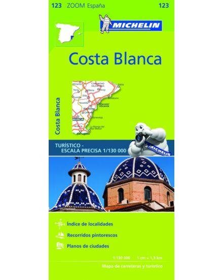 Cartographia  - Costa Blanca térkép - Michelin 123