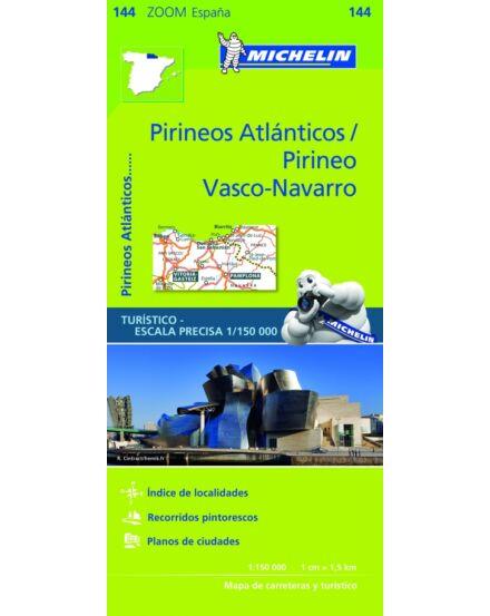 Cartographia  - Atlanti-Pireneusok térkép 144 Michelin