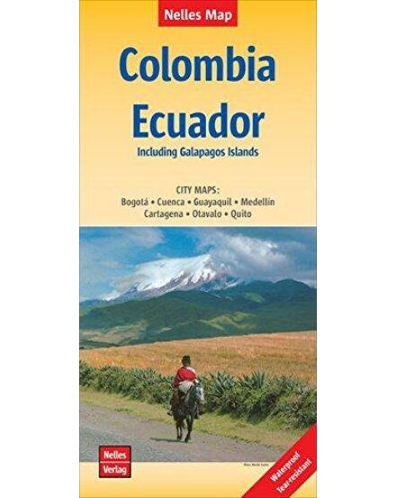 Cartographia  - Kolumbia, Ecuador térkép