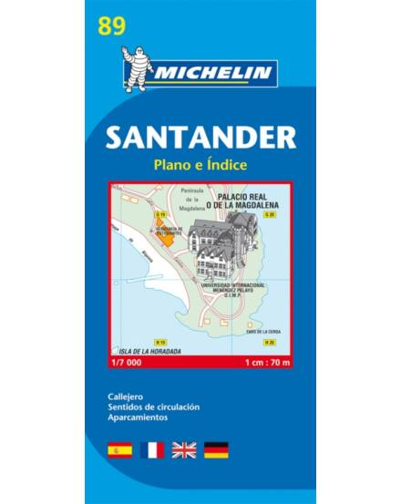 Cartographia  - Santander várostérkép (89)