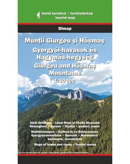 Cartographia  - Gyergyói-havasok és Hagymás-hegység turistatérkép