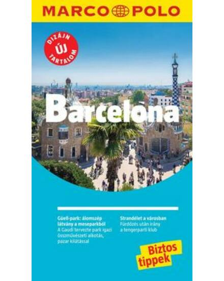 Cartographia  - Barcelona útikönyv - Marco Polo