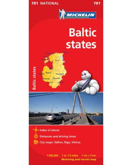 Cartographia  - Balti államok térkép (781)