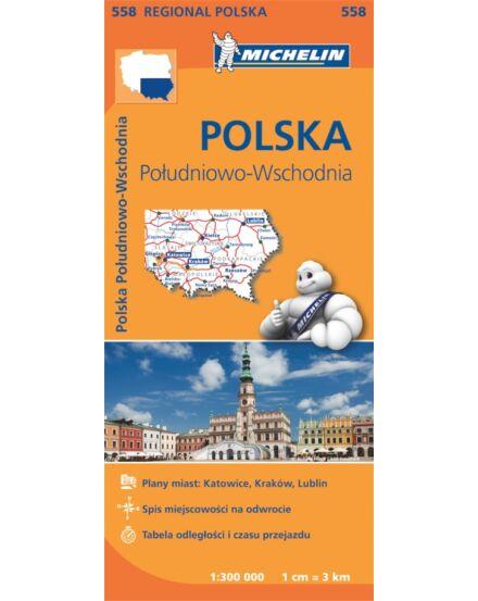 Cartographia  - Dél-Kelet Lengyelország régiótérkép (558)