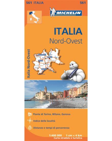 Cartographia  - Észak-Nyugat Olaszország régiótérkép (561)