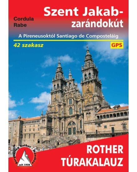Cartographia  - Szent Jakab-zarándokút Rother Túrakalauz
