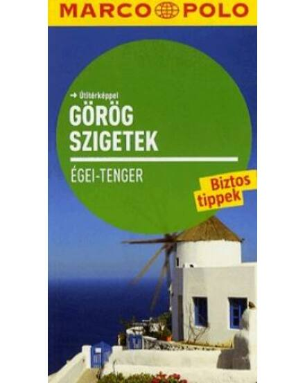 Cartographia  - Az Égei-tengeri görög szigetek útikönyv - Marco Polo