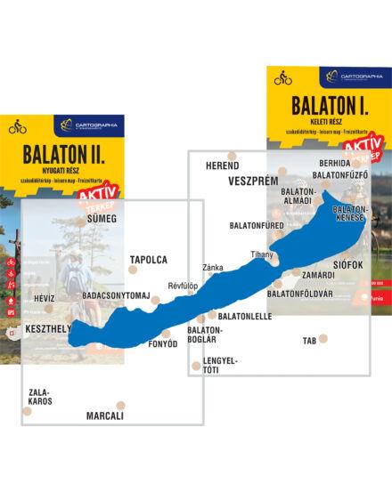 Balaton I Aktiv Terkep Keleti Resz
