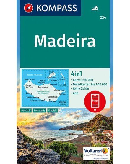 Cartographia  - K 234 Madeira turistatérkép