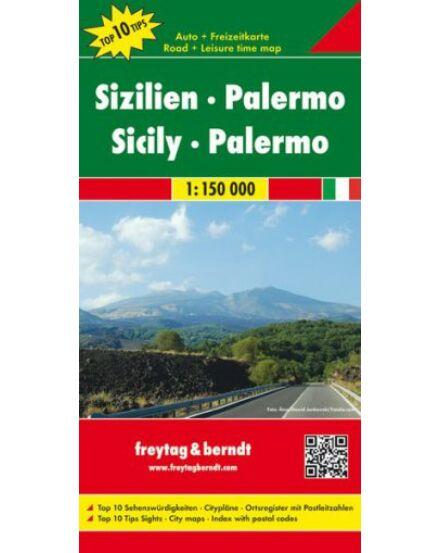 Cartographia  - Szicília, Palermo térkép