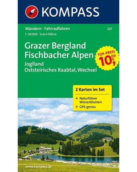 Cartographia  - Grazer Bergland turistatérkép