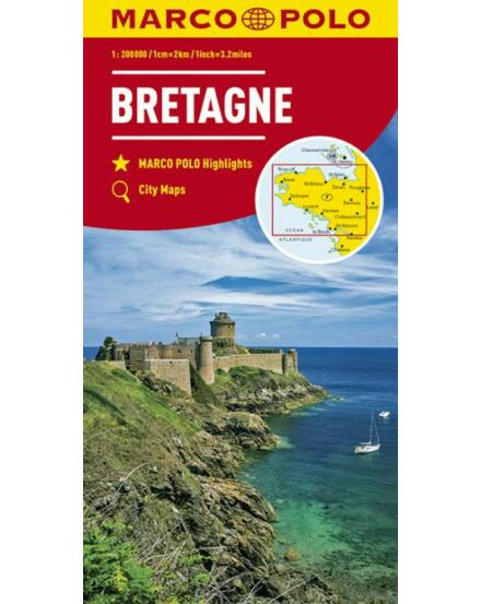 Cartographia  - Bretagne térkép