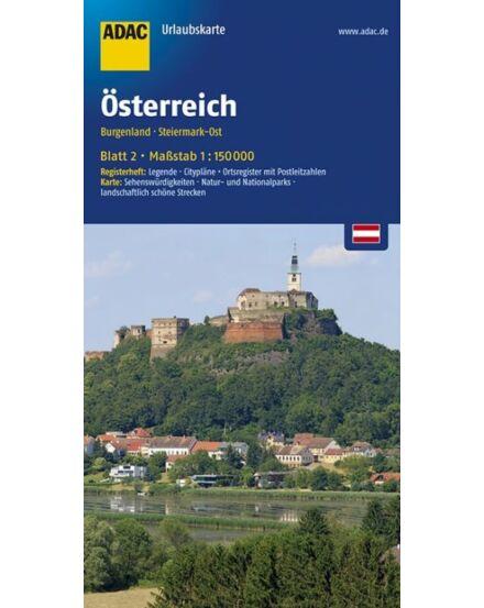 Cartographia  - Burgenland, Kelet-Stájerország