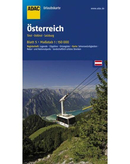 Cartographia  - Tirol, Kelet-Tirol, Salzburg szabadidőtérkép