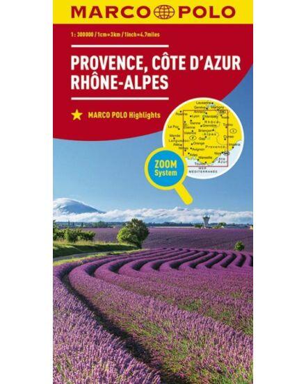 Cartographia  - Cote d' Azur, Provence térkép