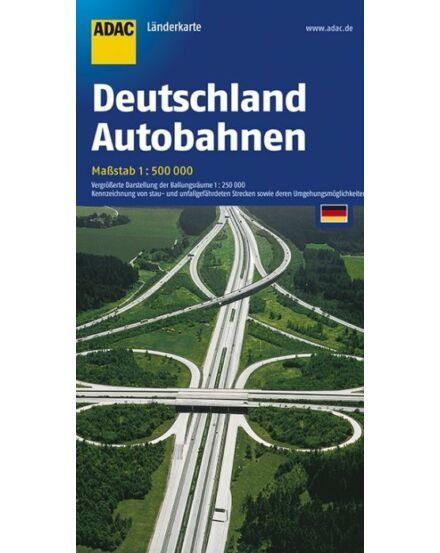 Cartographia  - Németország autópálya térkép
