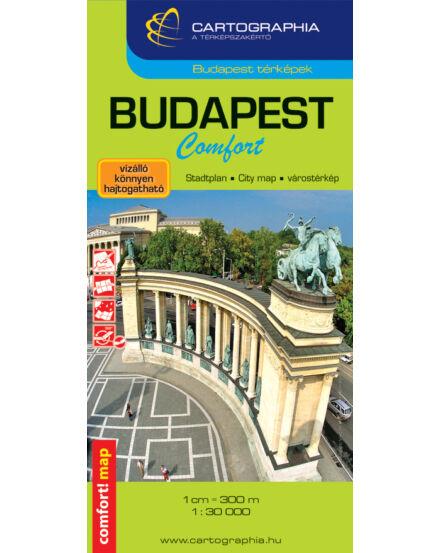 Budapest Comfort Terkep Laminalt