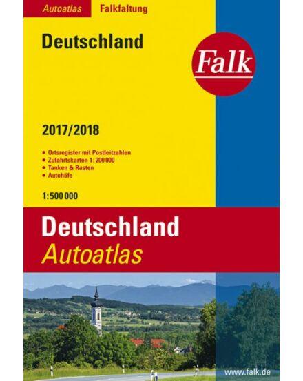 Cartographia  - Németország atlasz (Falkfaltung)