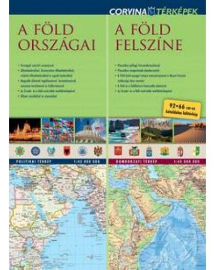 Cartographia  - Föld országai/ felszíne duó tkp. Corvina