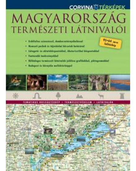 Cartographia  - Magyarország természeti látnivalói térkép