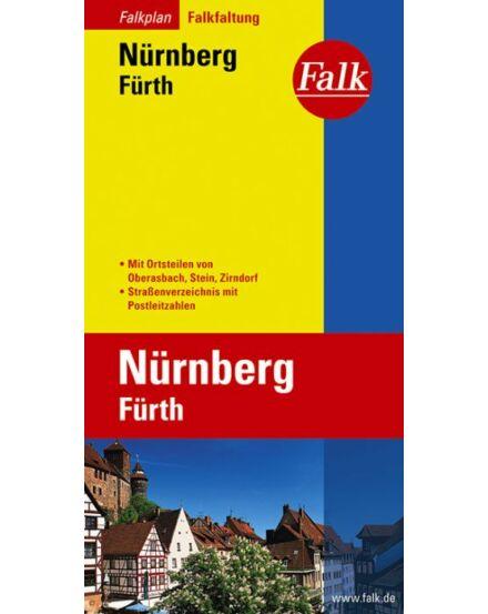 Cartographia  - Nürnberg várostérkép (Falkfaltung)