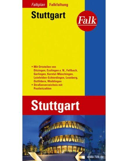 Cartographia  - Stuttgart várostérkép (Falkfaltung)