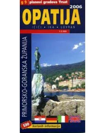 Cartographia  - Opatija (Opátia) várostérkép
