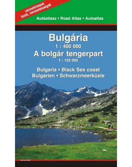 Cartographia  - Bulgária atlasz