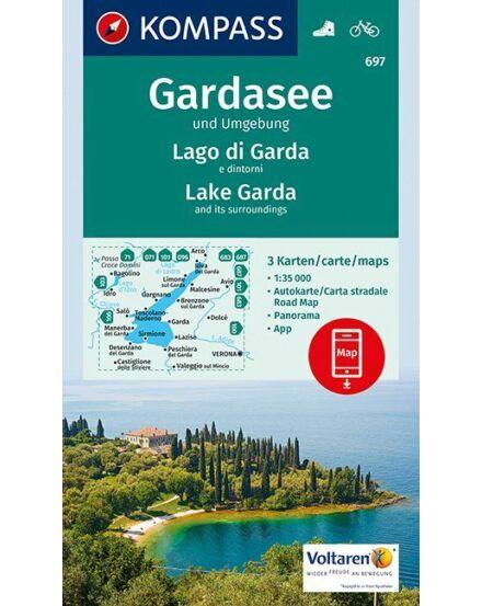 Cartographia  - K 697 Garda-tó és környéke turistatérkép