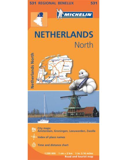 Cartographia  - Hollandia Észak térkép