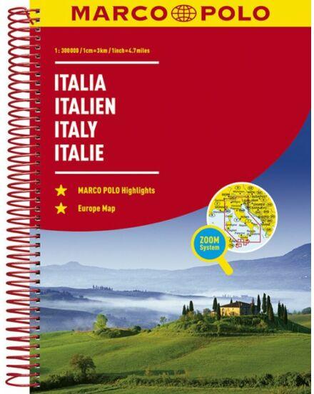 Cartographia  - Olaszország atlasz