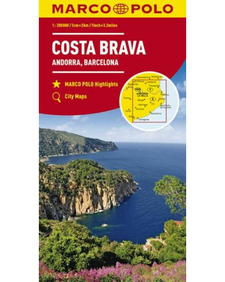 Cartographia  - Costa Brava, Andorra térkép
