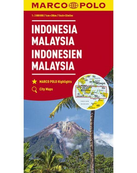 Cartographia  - Indonézia, Malajzia térkép