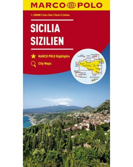 Cartographia  - Szicília térkép