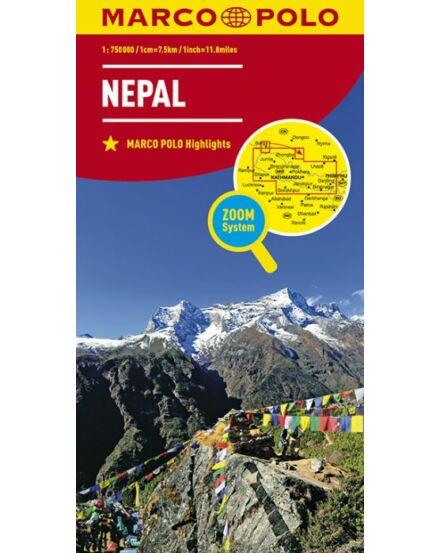 Cartographia  - Nepál térkép Marco Polo