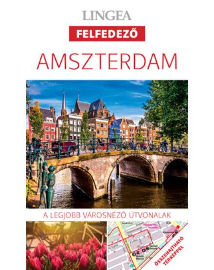 Cartographia  - Amszterdam felfedező útikönyv térképpel
