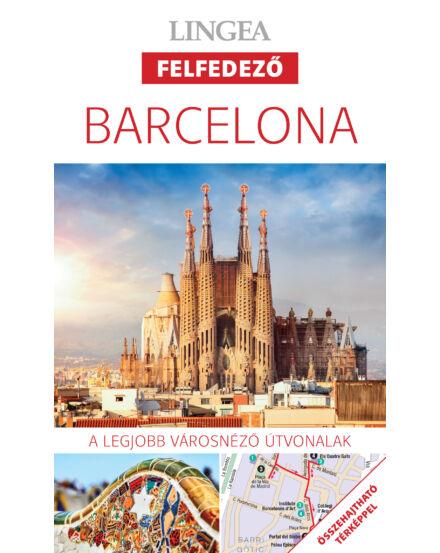 Cartographia  - Barcelona  felfedező útikönyv térképpel