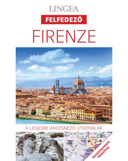 Cartographia  - Firenze felfedező útikönyv + térkép
