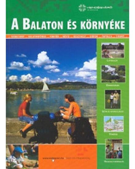 Balaton és környéke útikönyv (Well-Press)