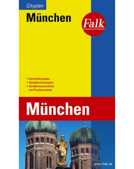 Cartographia  - München zseb várostérkép (Cityplan)