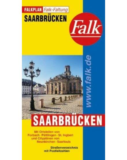 Cartographia  - Saarbrücken várostérkép (Falkfaltung)